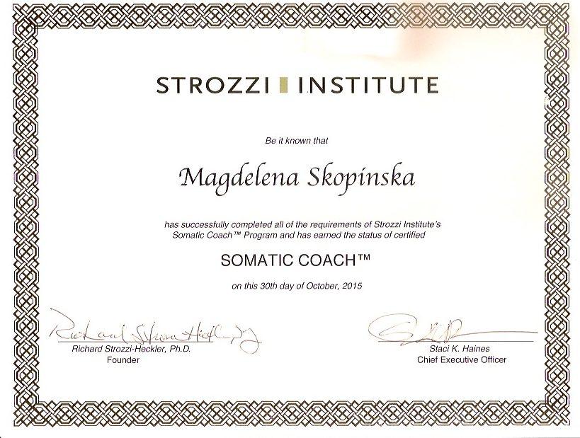 trener somatyczny